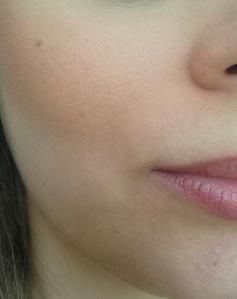 Depois: Makeup completa