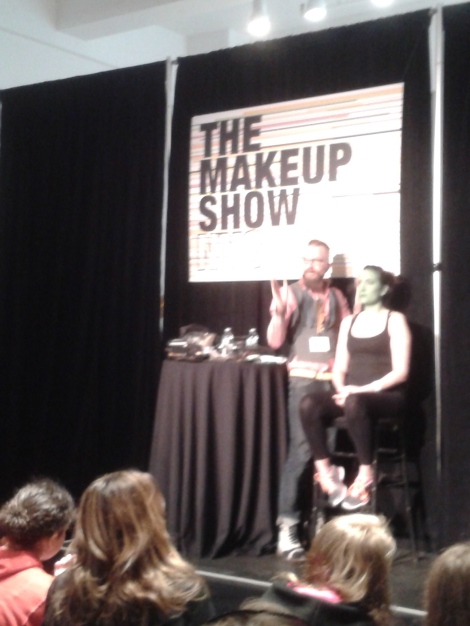 Joe Dulude:The Makeup show NYC 2014