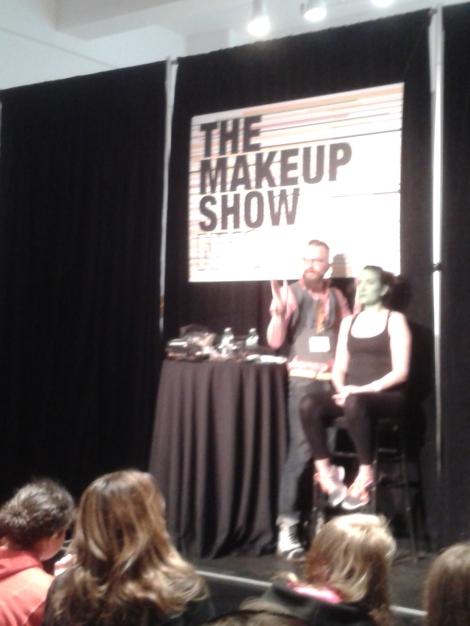 Joe Dulude:The Makeup show NYC 2014