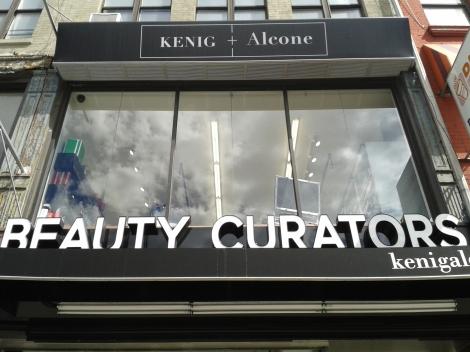 Fachada da loja, em Manhattan,NY