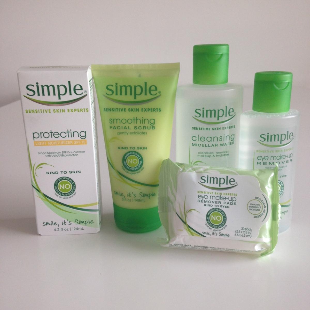 SIMPLE SKINCARE: Você conhece essa marca para peles sensíveis?