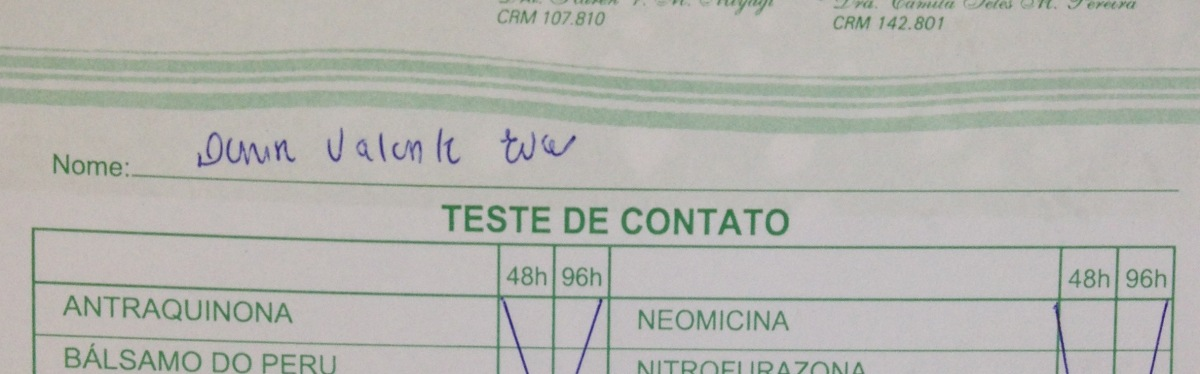 TESTE de Alergia: Eu fiz e te conto como foi!